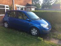 For Sale Renault Megane Scenic 2005 - Diesel 1.5, this car is great for both families and utilities.