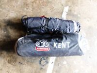 2 man roomy eurohike kent tent ,in very good condition