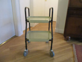 Handy Trolley with two detachable trays