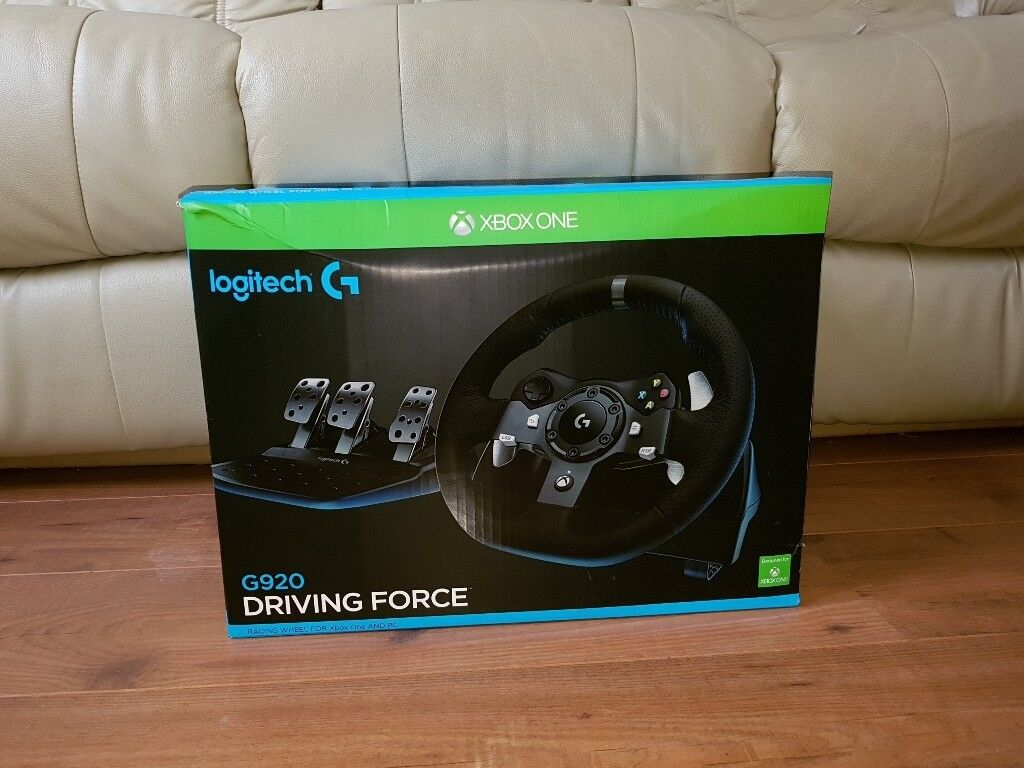 Xbox one / pc logitech g920 | in Leicester, Leicestershire | Gumtree