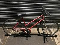 Ladies Town Bike. Serviced, Free Lock, Lights, Delivery.