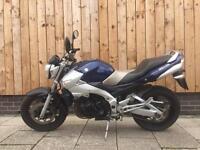 2006 Suzuki gsr600 * Long MOT * gsxr 600cc engine * commuter bandit / first motorbike