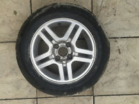 195/60 R15 Ford Focus Tyre and wheel 7mm