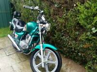 Hyosung cruise 125cc 11 months mot ready to ride
