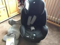 Joie stages car seat (birth to age 7)