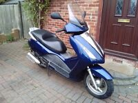 2006 Honda FES 125 Pantheon, automatic, long MOT, 1 owner, service history, maxi scooter, not ps sh