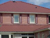 Need a New Roof? GO GREEN Steel Roofing!!!