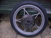 Suzuki GS125 Front Wheel