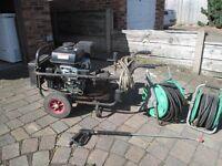 Kohler Command Pro 14 Petrol Generator with wheels