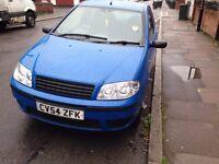 FIAT PUNTO 1.2 BLUE 2005 £450