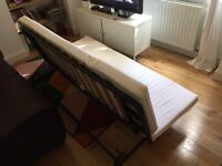 Ikea Sofa Bed for sale - 3 seater double bed, futon. Collection in bow