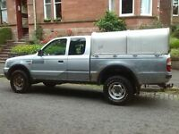 ford ranger supercab 2.5 turbo diesel pick up 4x4 2004 04 plate
