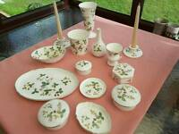 Wedgwood bone china Wild Strawberry collection