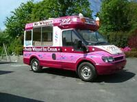 Soft ice cream van wanted to rent