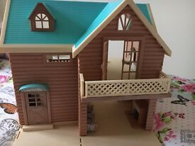 Sylvanian families houses in excellent condition, some furniture