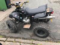 ROAD LEGAL QUAD & 110cc quad both for sale