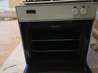 Freestanding AEG gas cooker electric oven