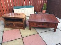 Tv stand & table for sale