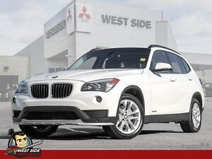 2015 BMW X1 xDrive28i-AWD-Turbocharged-Cell Phone Hookup-Parking