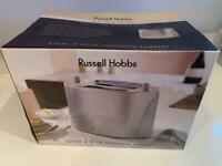 Russell Hobbs Silver 2 Slice Toaster