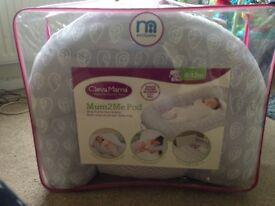 Mum2Me nest sleep pod cleva mama sleep pod body pillow baby pregnancy