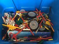 K'nex Construction Set with instructions