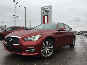 2014 Infiniti Q50 Premium-ACCIDENT FREE WITH UNDER 25000KM'S!!!