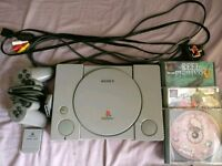 Audiophile PlayStation 1 (PS1), Accessories & Games