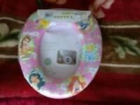 Brand new Disney soft padded potty seat