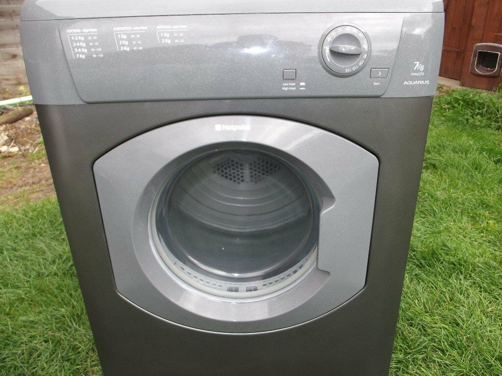 HOTPOINT 7KG VENTED TUMBLE DRYER FULLY REFURBISHED COMES WITH 3 MONTHS WARRANTY
