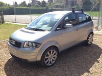 2002 Audi A2 1.4 Sport, low mileage, new clutch