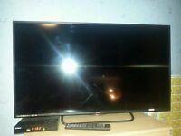 Technika 40F22B Full HD Slim 40 Inch LED TV with Freeview HD.