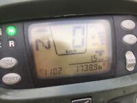 Honda Forman 500 TRX quad.
