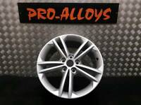 "18"" VAUXHALL INSIGNIA ALLOY WHEEL REFURBISHED STAR SILVER 5x120"