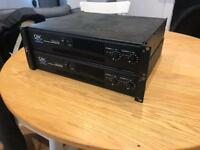 Qsc Rmx 2450 professional power amplifier