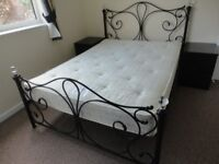 Double Bed with Matress Excellent Condition Possible LOCAL Delivery St Annes/Blackpool