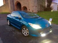 PEUGEOT 307 CC 2.0 S IN BLUE/NEW 12 MONTHS MOT/CAMBELT CHANGE/CLUTCH CHANGE/FSH 11 STAMPS