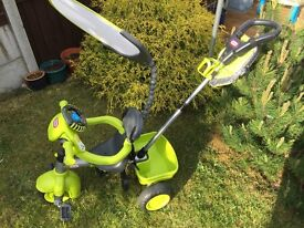 Little Tikes 4 in 1 Trike in Green very good condition inc. music wheel!
