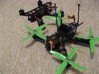 Drone x2 210 Racing FPV mini Quads