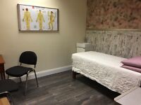 Beauty/ Massage treatment room to rent in city centre