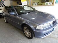 2003 BMW 3 SERIES 2.0 318 AUTOMATIC Ci 2DOOR, CONVERTIBLE, VERY CLEAN CAR, DRIVES LIKE NEW,HPI CLEAR