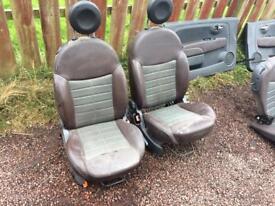 Fiat 500 seat