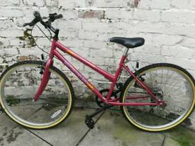 "Ladies 18"" bicycle"