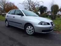 2005 SEAT IBIZA 1.2 5 DOOR NEW MOT