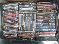 Job lot 416 DVDs + 30 PS2 games