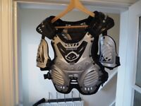 UFO Shockwave Youth/small adult Motocross armour