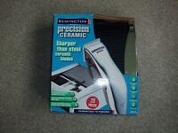 REMINGTON PRECISION CERAMIC MENS HAIR CUTTING AND TRIMMING KIT NOS