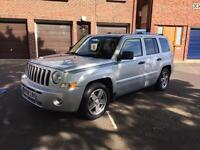 JEEP PATRIOT LIMITED DIESEL 6 SPEED MANUAL 2008 FSH ONE PREVIOUS OWNER PORTSMOUTH