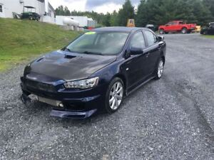 2014 Mitsubishi LANCER EVOLUTION RALLIARD AWD TURBO PAS DE VGA ,