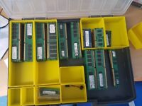 Bulk DDR 2 DDR 3 RAM, various different brands 1GB 2 GB 4GB STICKS